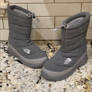 The North Face Heatseeker Gray Insulated Boots